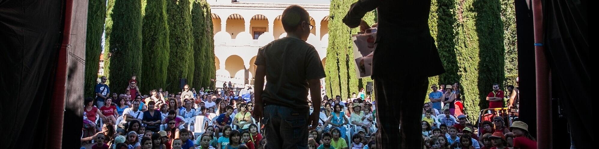 artista invitado en el Titirigüada Festival