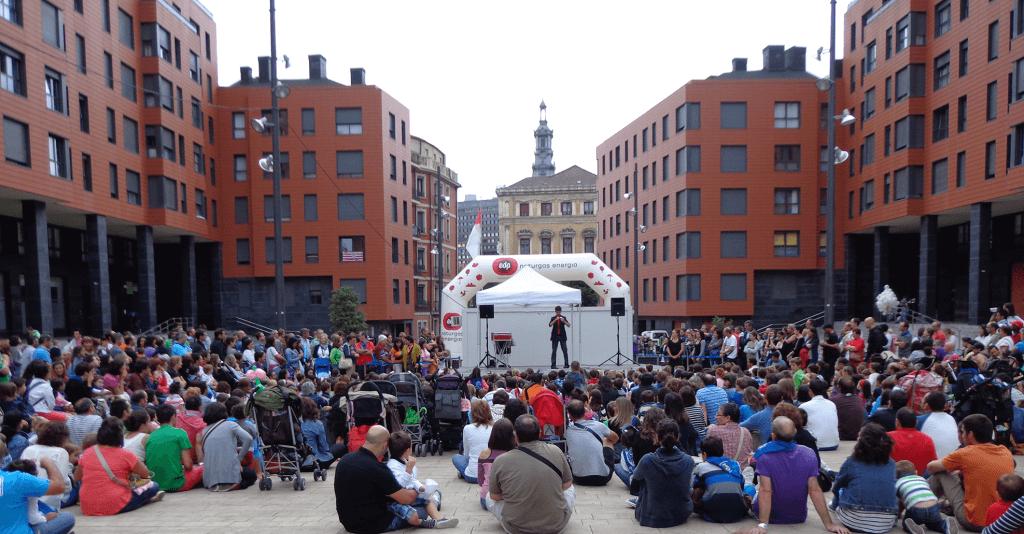 Actuación para Naturgas en Bilbao